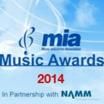 Professional Music Technology wins MIA 'Best Presented Retailer of the Year' Award 2014