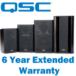 QSC Products With 6 Year Extended Warranty