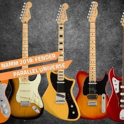 Fender Parallel Universe Limited Edition Guitars Revealed