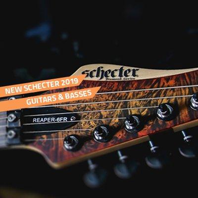 2019 schecter guitars