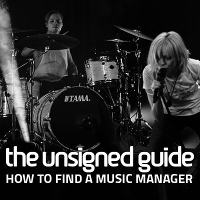 find a music manager