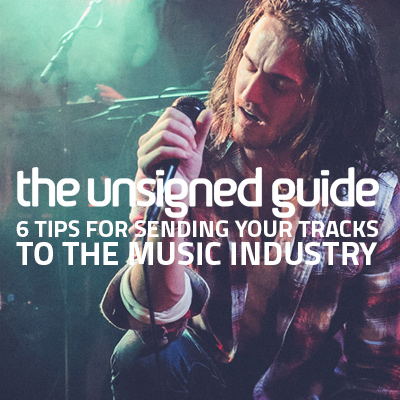 how to get tracks heard by music industry