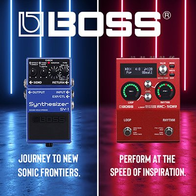 new boss pedals