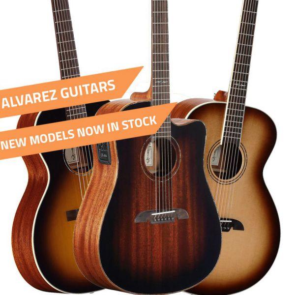 New Alvarez Guitars Announced