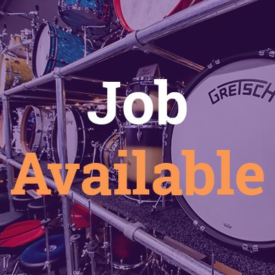 Online Merchandiser (Drums and Percussion)