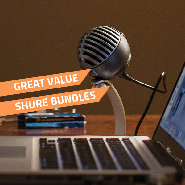 shure bundles deals