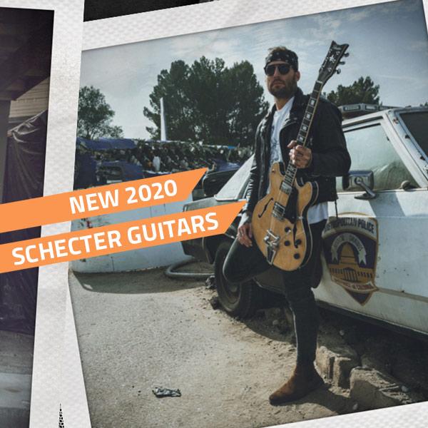 schecter 2020 guitars