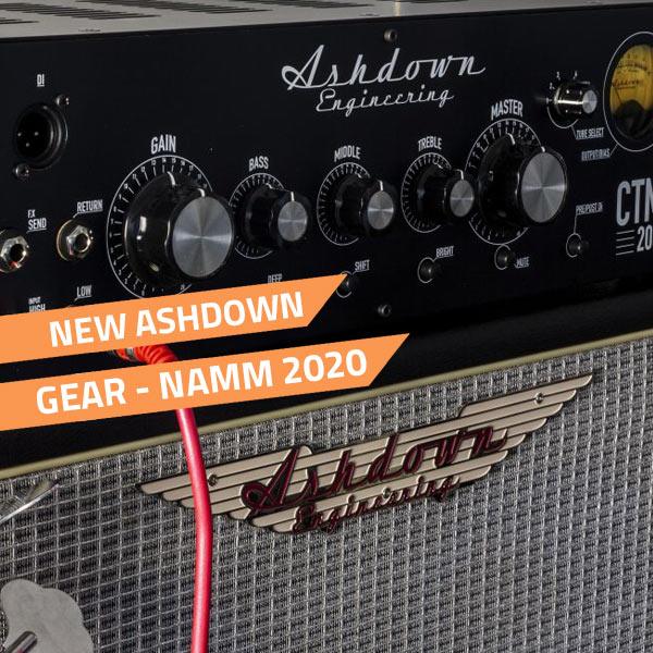 ashdown bass guitars - namm 2020