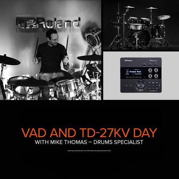 Roland V-Drums Takeover - PMT Romford