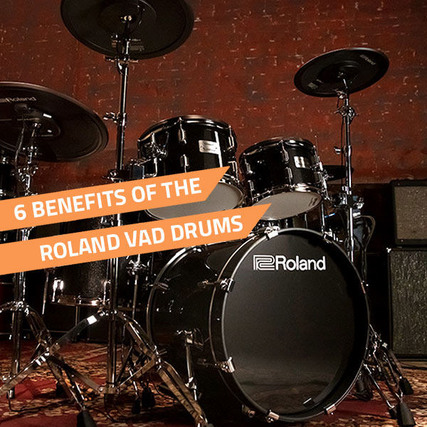 roland vad drums benefits