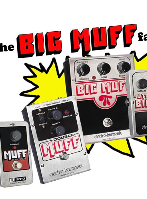 A Quick History And Comparison On The Big Muff