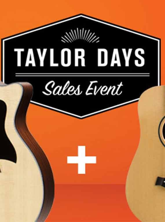 Buy A Taylor Guitar & Get A Free Baby Taylor