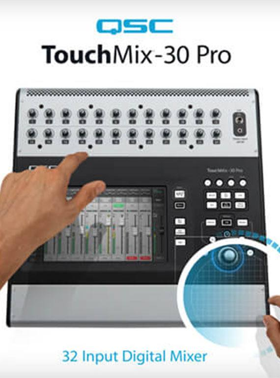 QSC TouchMix 30 Pro Review - 13 Reasons You Need It