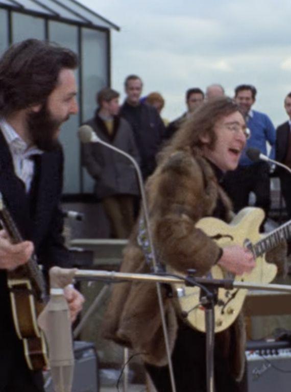 beatles rooftop guitar guide