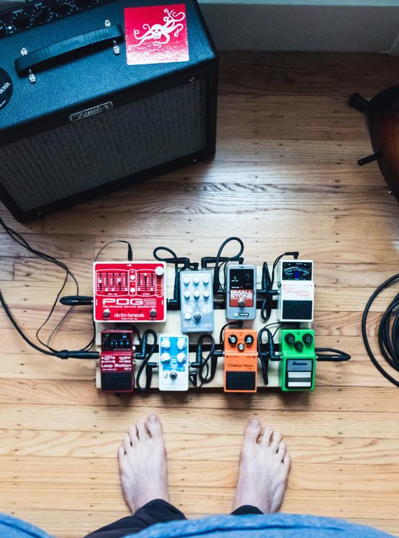 beginners guide to guitar effects pedals