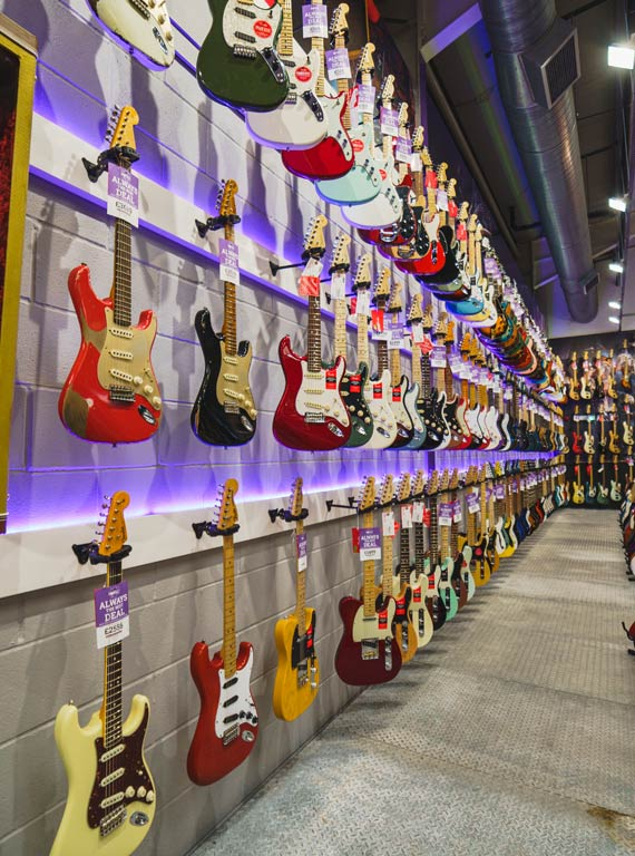 best guitar shop in the uk