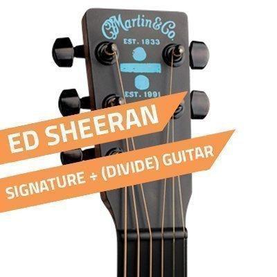 Martin Ed Sheeran ÷ (divide) Signature Guitar
