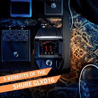 benefits of the shure glxd16