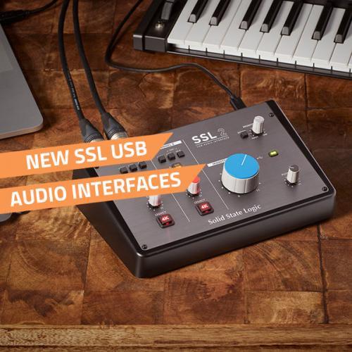 new ssl usb audio interfaces