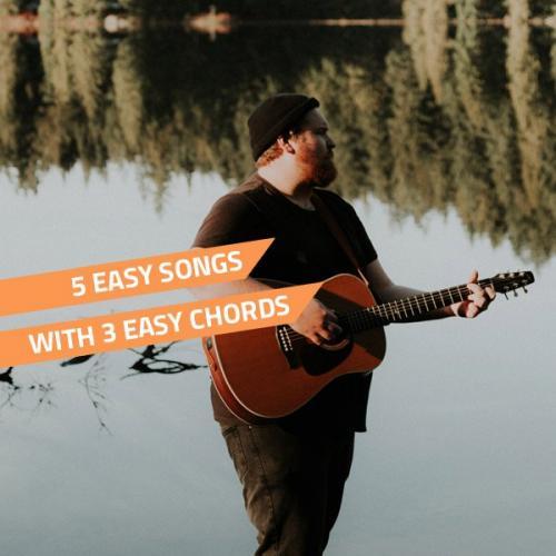 5 easy songs on guitar - beginner guitar songs