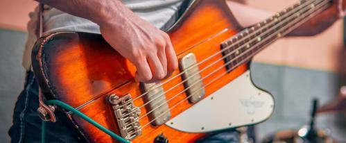 bass guitar setup