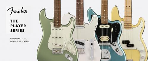 2018 Fender Player Series Guitars
