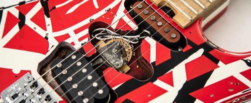 van halen guitar techniques