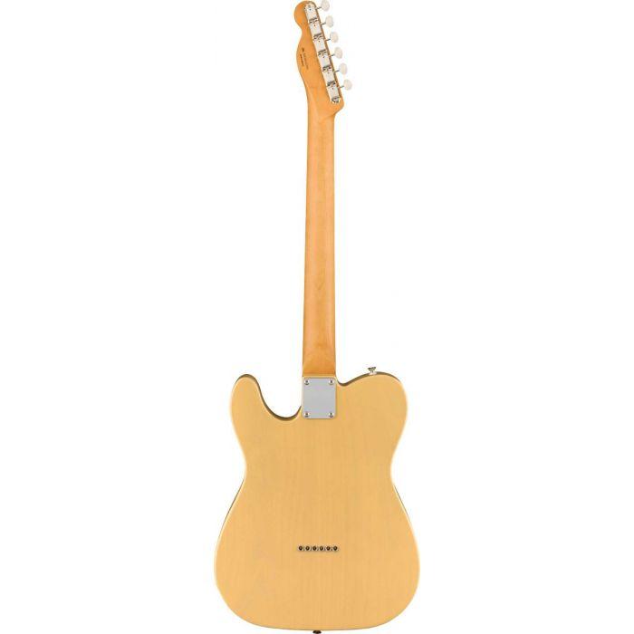 Back view of the Fender Noventa Telecaster Vintage Blonde
