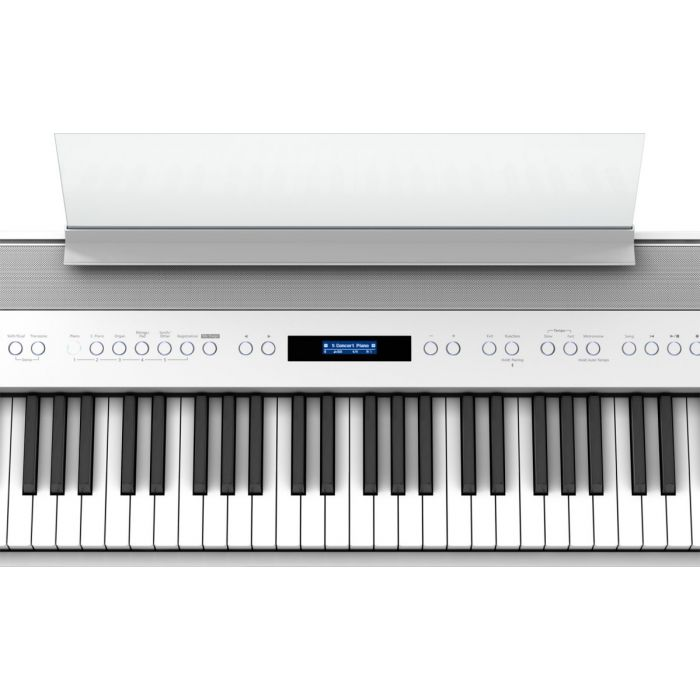 Roland FP-60X 88 Note Compact Piano White zoom