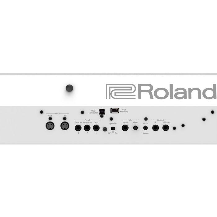 Roland FP-90X Premium Portable Piano White back
