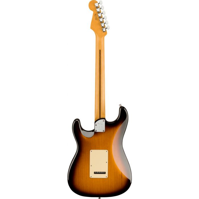 Rear view of Fender Ultra Luxe Stratocaster MN, 2-Color Sunburst