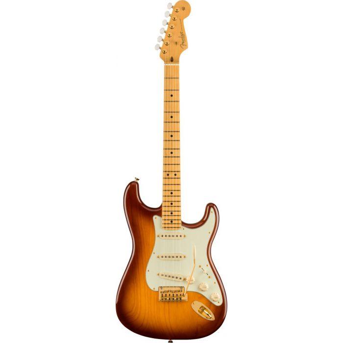 Fender 75th Anniversary Commemorative Strat Bourbon Burst Front