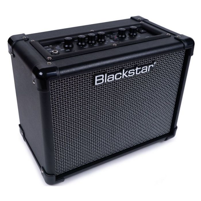 Left angled view of a Blackstar ID:CORE 10 V3 10w Digital Guitar Combo Amplifier