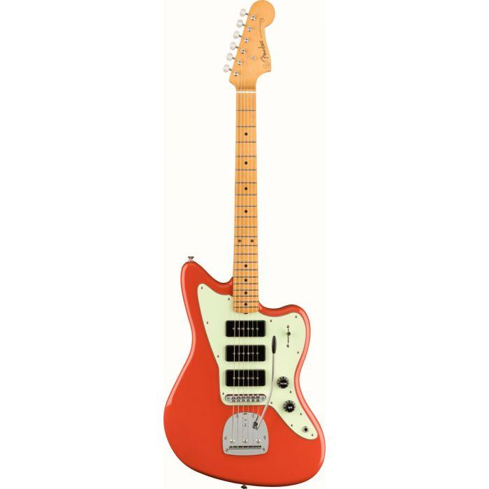 Fender Noventa Jazzmaster MN, Fiesta Red Front