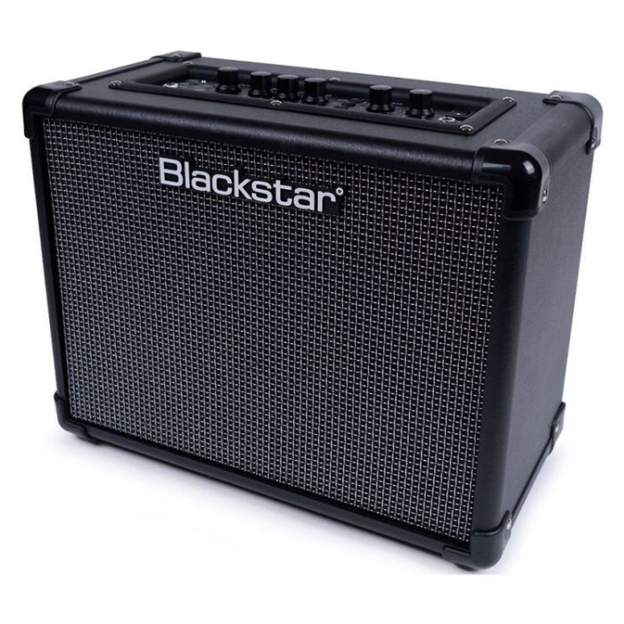 right angled view of a Blackstar ID:CORE 20 V3 20w Stereo Digital Combo Amp