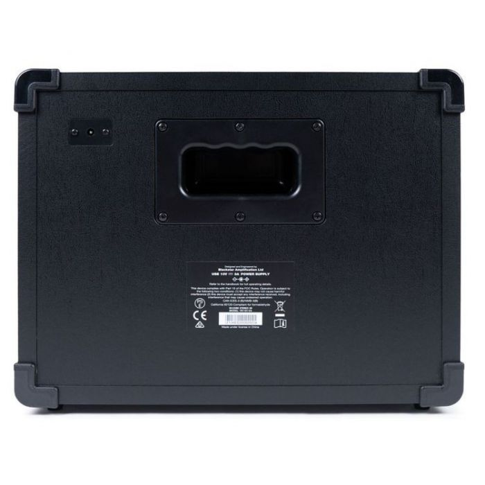 Full rear view of a Blackstar ID:CORE 20 V3 20w Stereo Digital Combo Amp