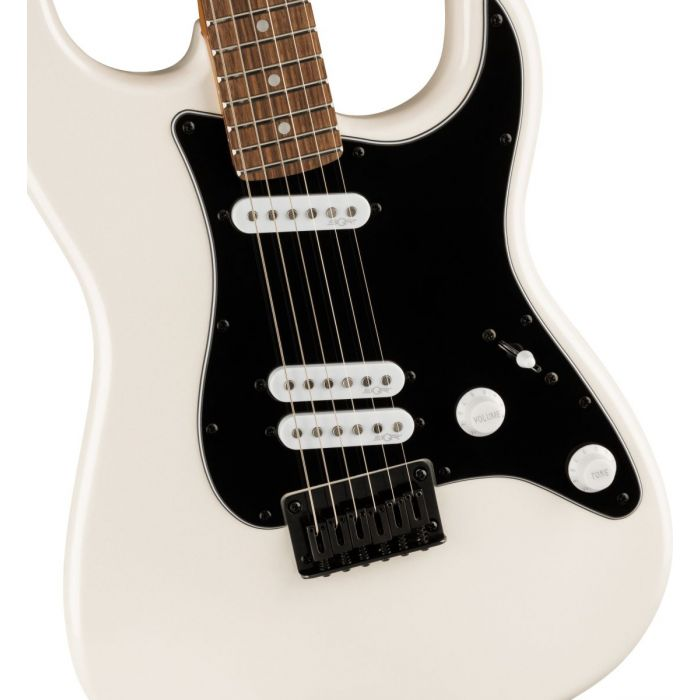 Squier Contemporary Stratocaster Special HT Laurel, Pearl White Front Body Detail