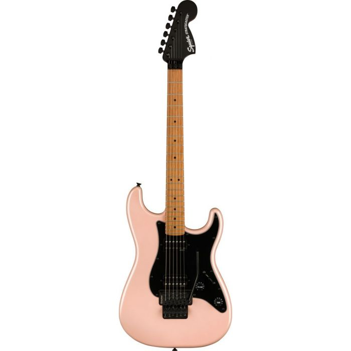Overview of the Squier Contemporary Stratocaster HH Shell Pink Pearl