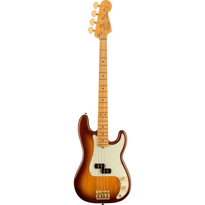 Overview of the Fender 75th Anniversary Commemorative Precision Bass 2-Color Bourbon Burst