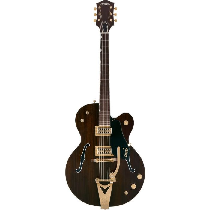 Overview of the Gretsch G6119TG-62 Ltd 62 Rosewood Tenny with Bigsby