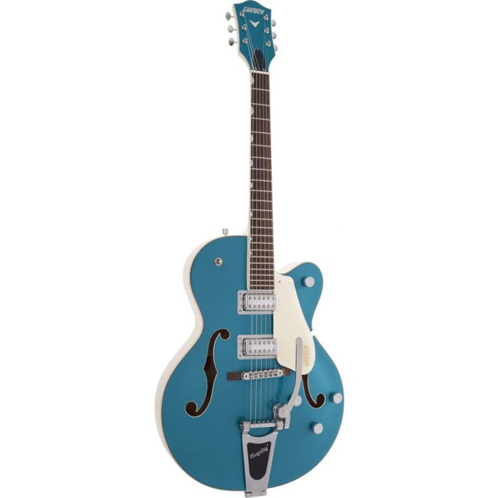 Angled front view of the Gretsch Electromatic Ltd G5410T