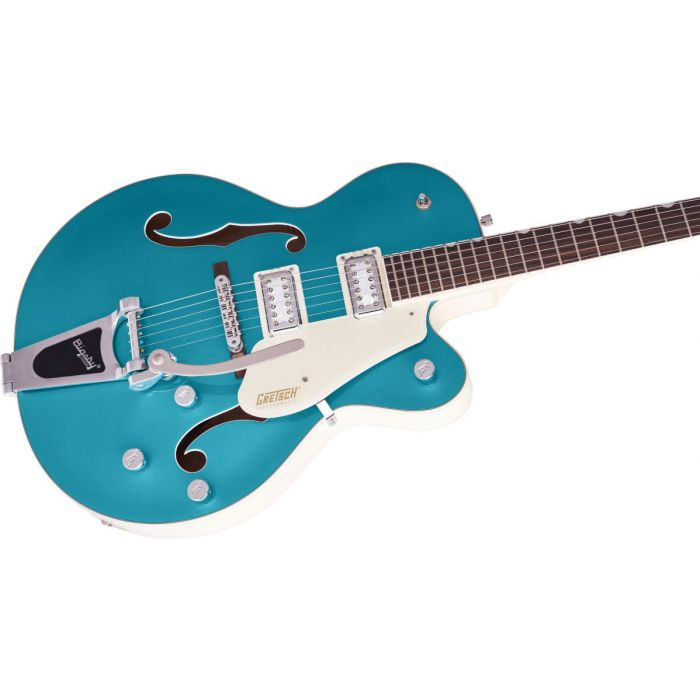 Body close up of the Gretsch Electromatic Ltd G5410T
