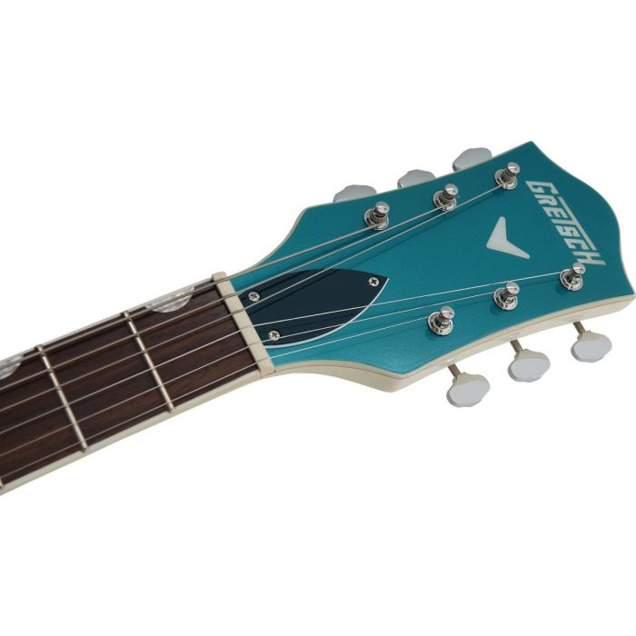 Headstock close of the Gretsch Electromatic Ltd G5410T