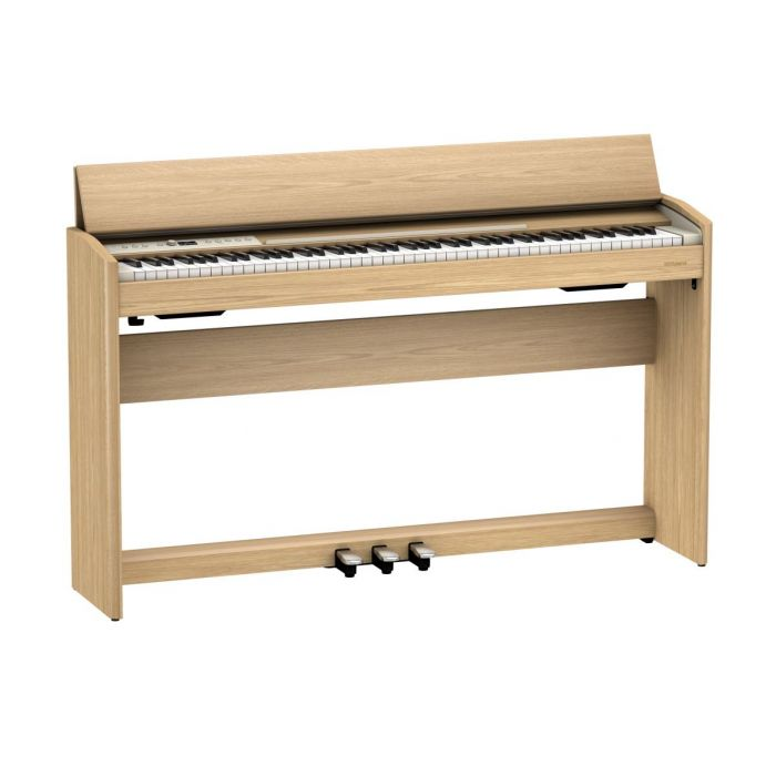 Overview of the Roland F701 Digital Piano Light Oak