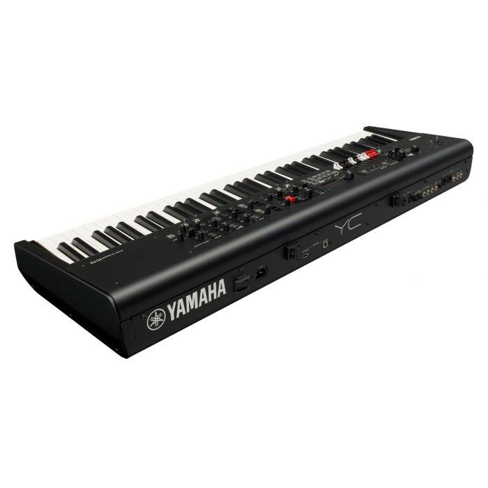 Yamaha YC73 73 Key Stage Keyboard Back Angle