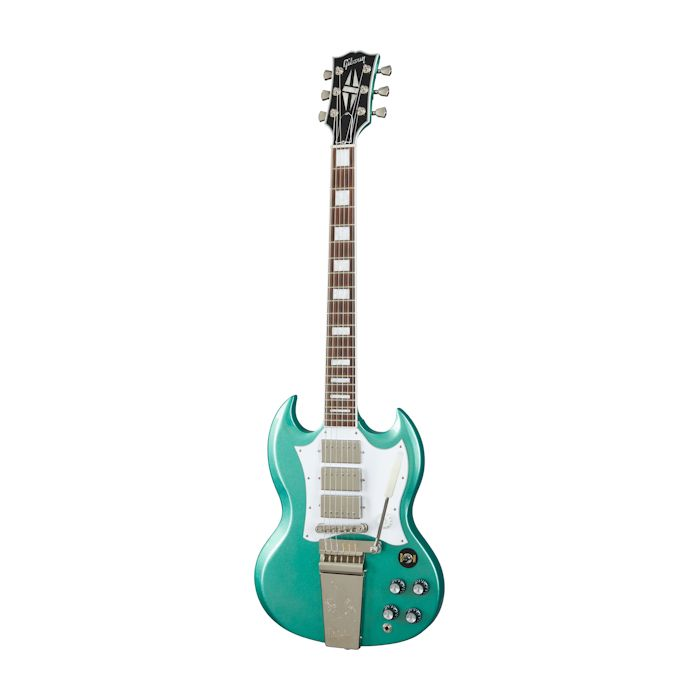 Gibson Kirk Douglas Signature SG Iverness Green front view
