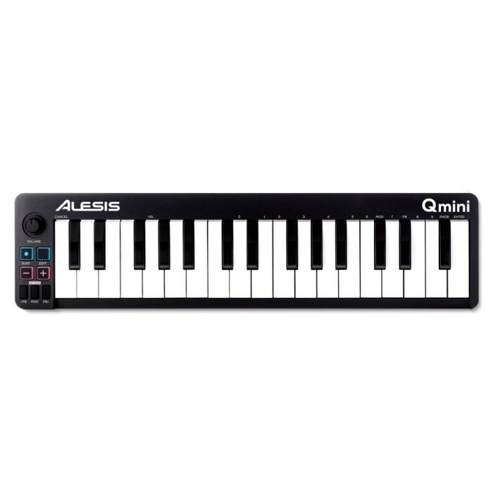 Alesis Qmini Compact 32 Key USB MIDI Keyboard Controller Front