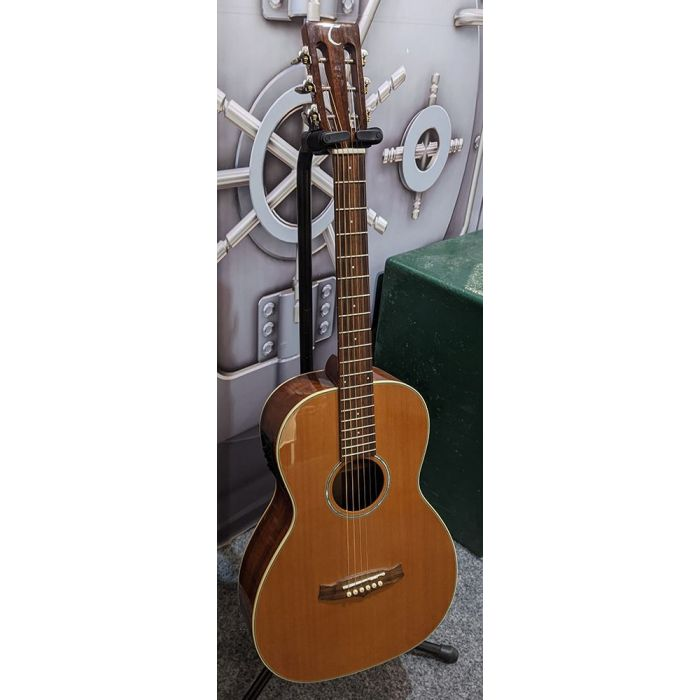 Pre-Loved Tanglewood TW73E Parlour Acoustic front view