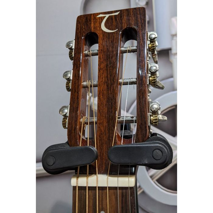 Headstock from a Pre-Loved Tanglewood TW73E Parlour Acoustic