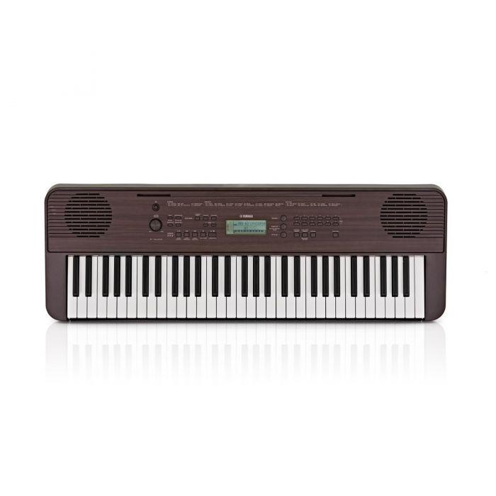 Overview of the Yamaha PSR-E360 Portable Keyboard Dark Walnut